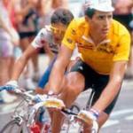 У спортсменов сердце в покое сокращается реже, чем у среднестатистического человека. На фото Мигель Индурайн (ЧСС в покое 30 уд/мин!).