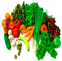Старайтесь есть больше овощей и фруктов.