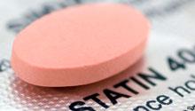 Статины снижают уровень холестерина крови.