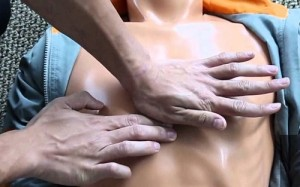 Точка для непрямого массажа сердца