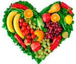 Питание овощами и фруктами замедляет развитие атеросклероза.
